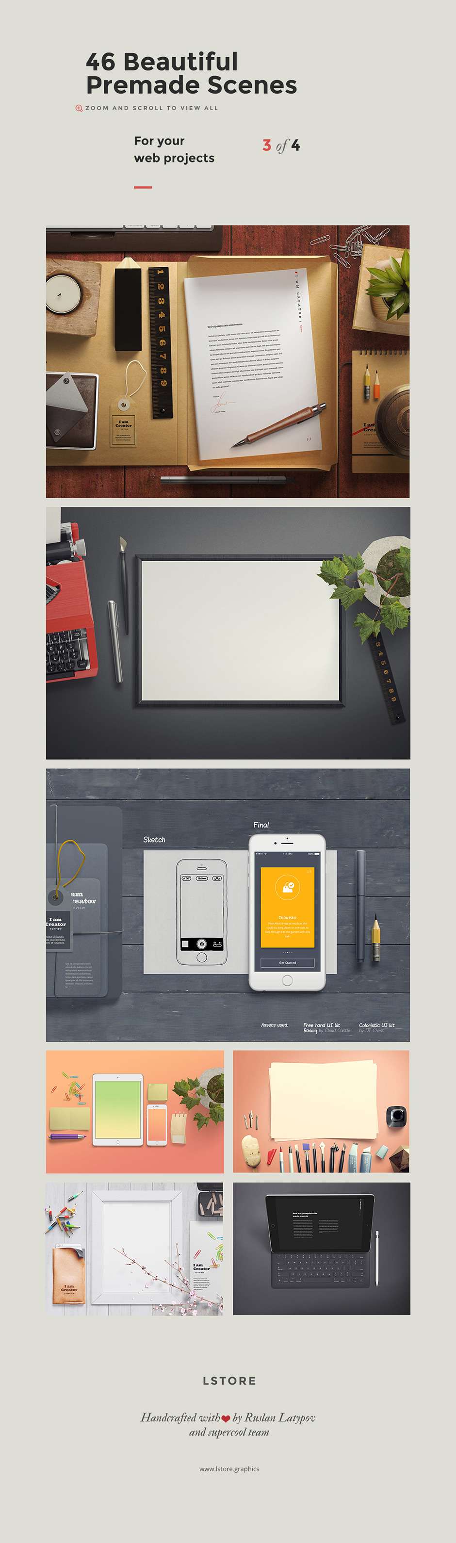 The Gigantic Mockup Templates Bundle