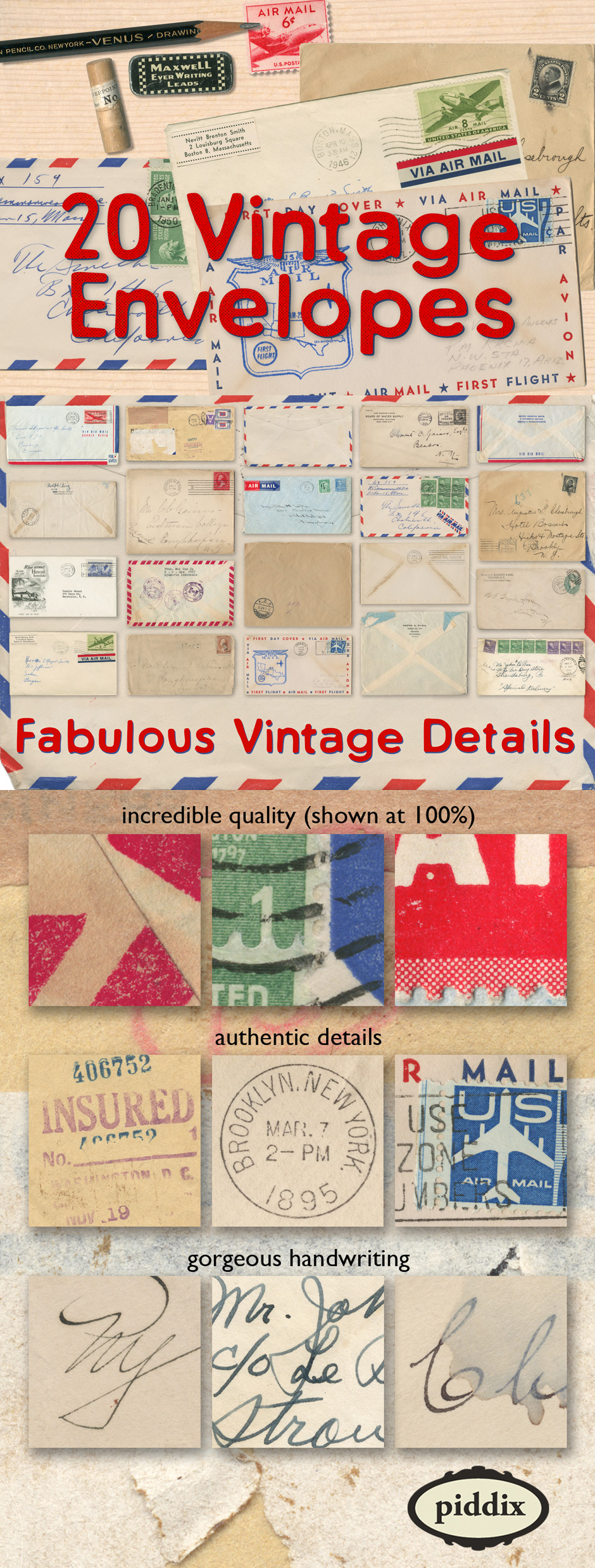 The Authentic Vintage Creative Bundle