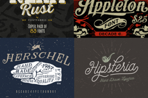 20 All New Best Selling Fonts (With Web Fonts and Extended Licensing)