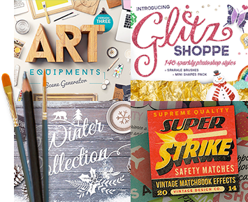 The Gorgeous, Artistic Design Bundle (1000s of Popular Creative Items)