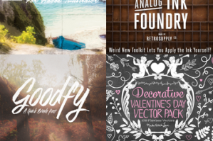 The Print Designer's Bundle (Best-Selling Fonts, Effects, Vectors and More)