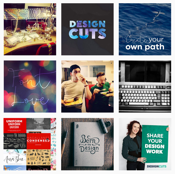 Design Cuts Instagram page