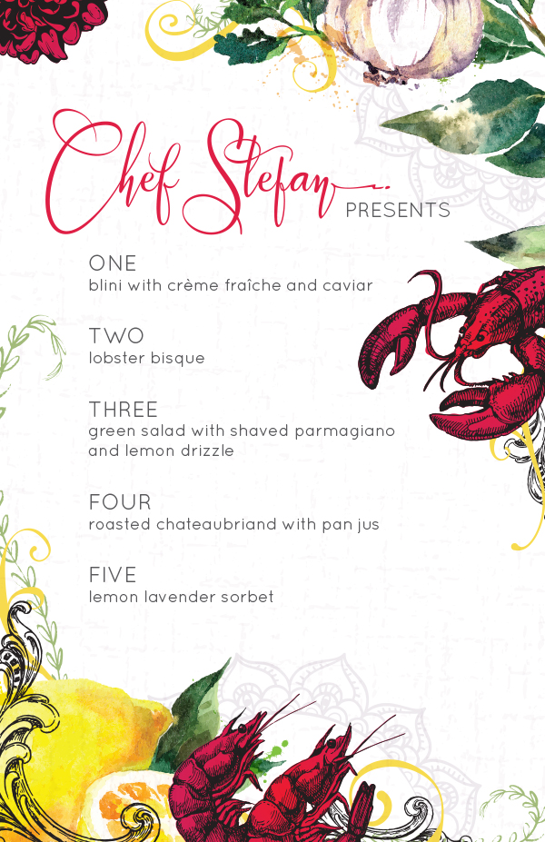 Create an Illustrative Restaurant Taster Menu - Design Cuts