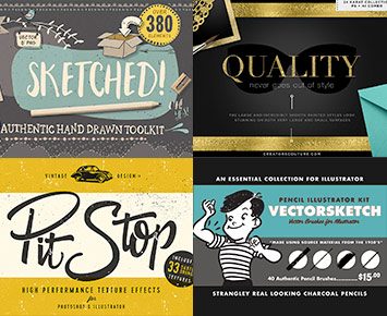 The Lovingly Handcrafted Design Bundle: 1000s of Handmade Resources