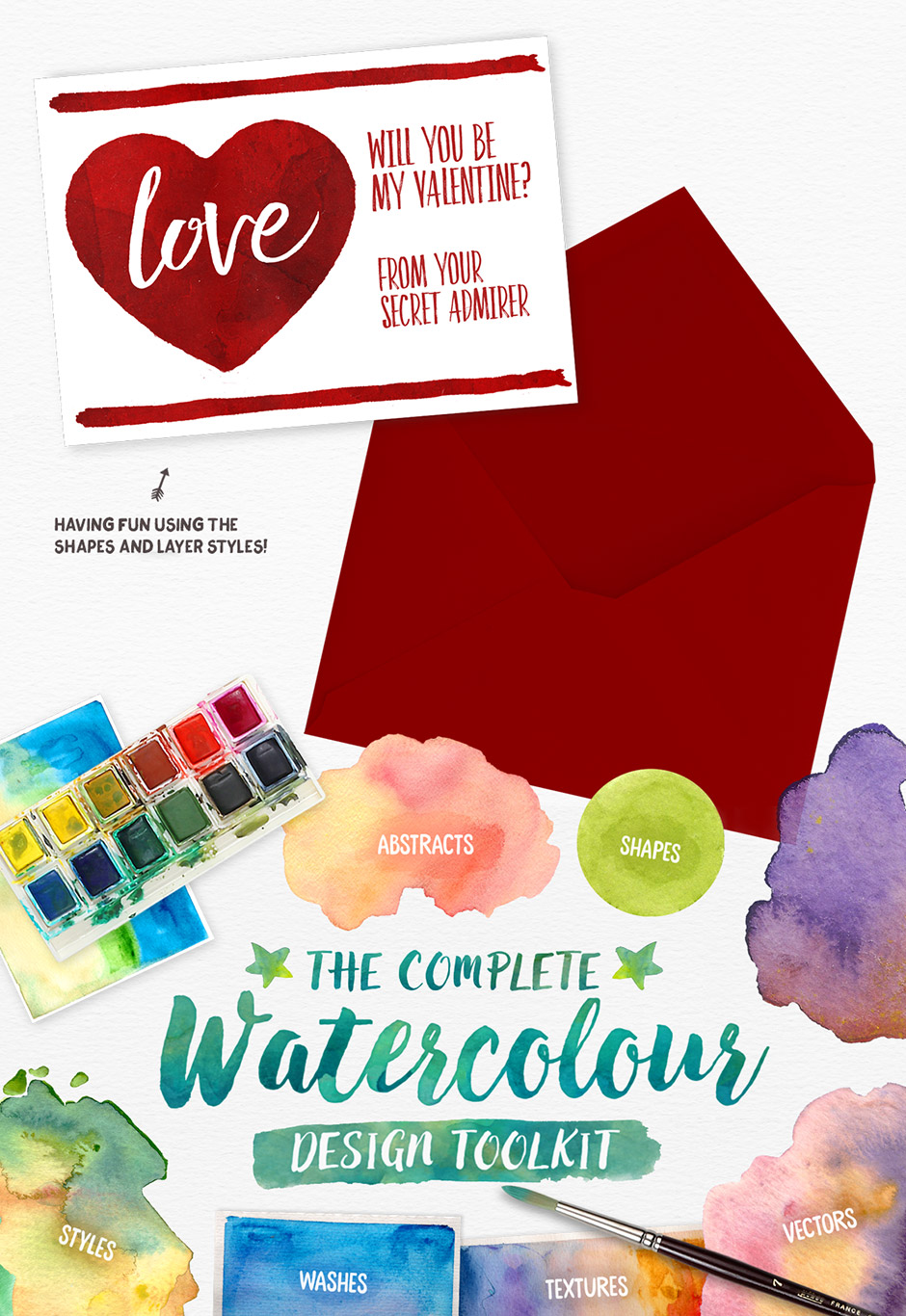 The Complete Watercolour Design Toolkit