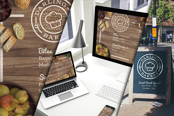 Design and Mock up a Tasty Bakery Menu Design Cuts Design Cuts – Sample Bakery Menu Template