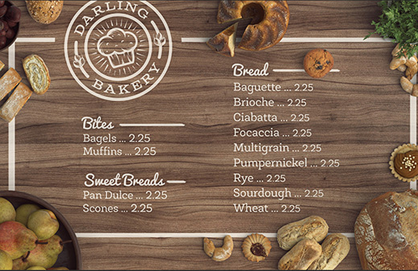 Design and mock up a tasty bakery menu design cuts design and mock up a tasty bakery menu thecheapjerseys Images