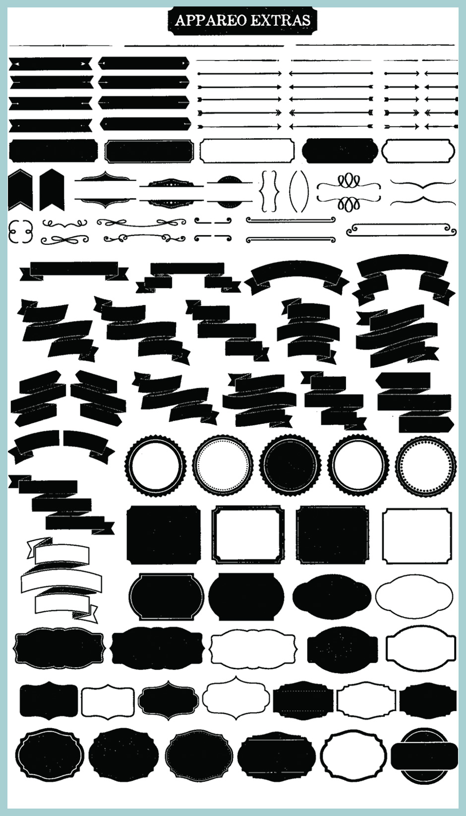 Appareo Font Extras Pack