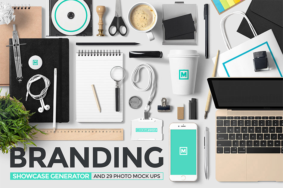 Branding Showcase Generator and Photos