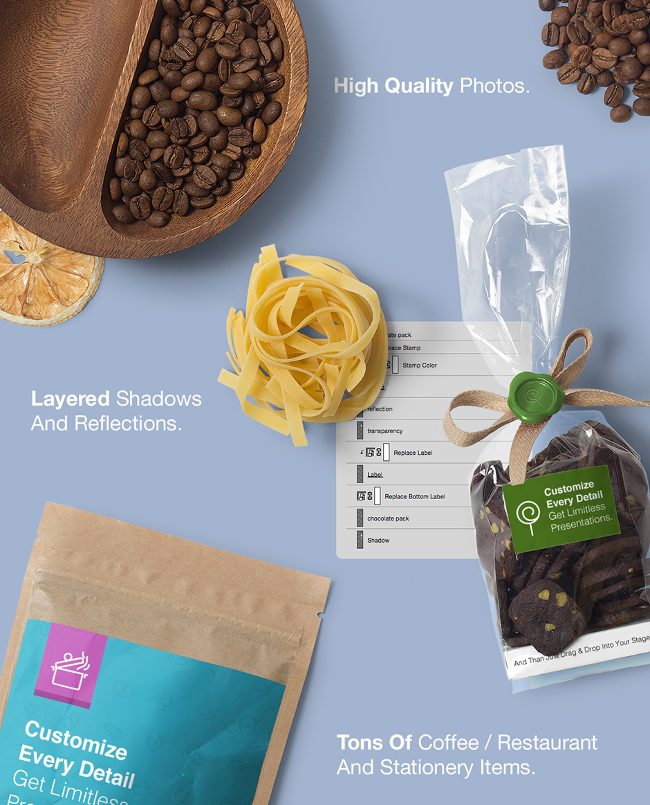 Coffee Branding & Packages Mockup