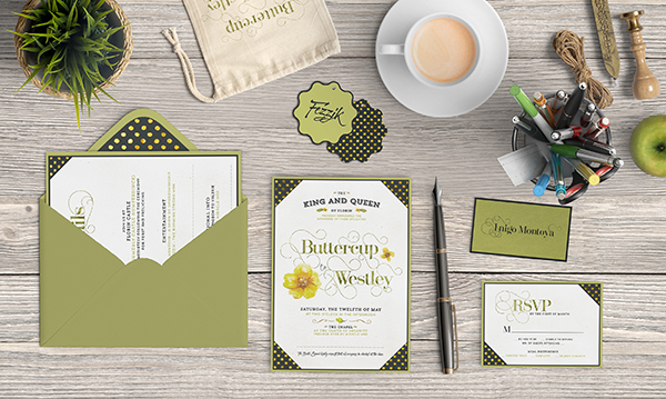 Design a Romantic Wedding Invite with Photoshop Illustrator