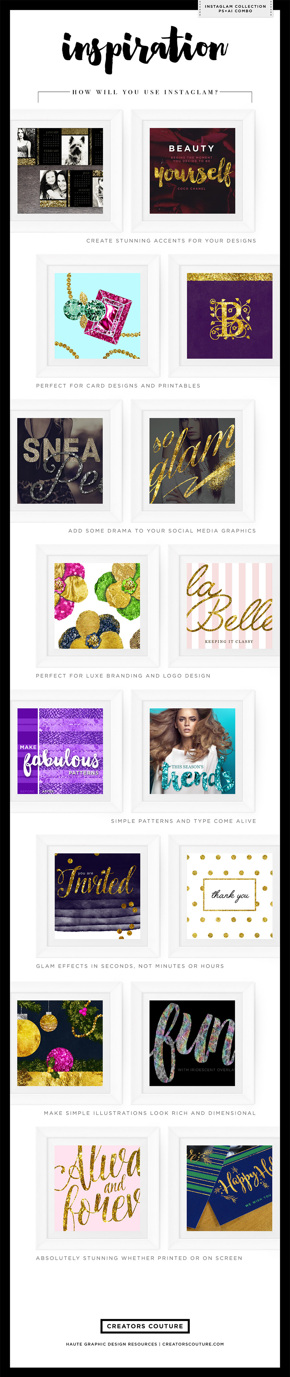 InstaGlam - Creative Cloud Combo