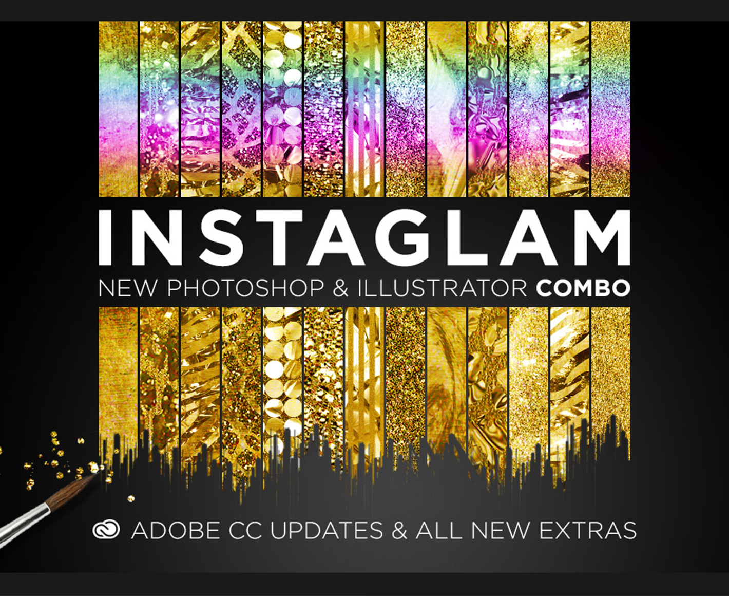 InstaGlam – Creative Cloud Combo (for Photoshop and Illustrator)