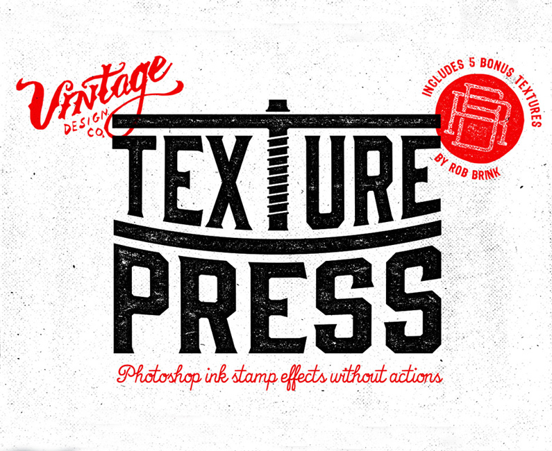 TexturePress – Ink Stamp Effects
