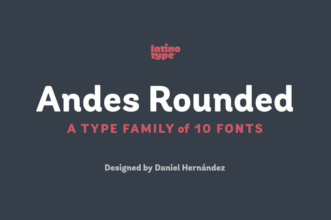 Andes Rounded Font Family
