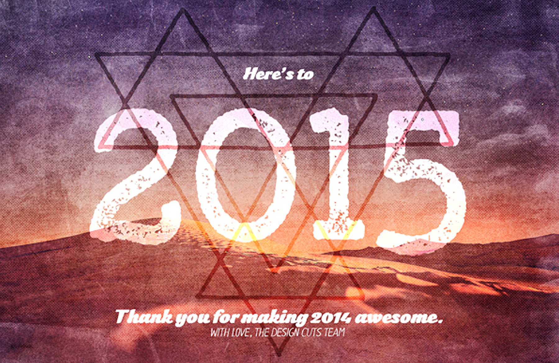 Create a Beautiful New Year Poster (Free Wallpaper Versions Included ...