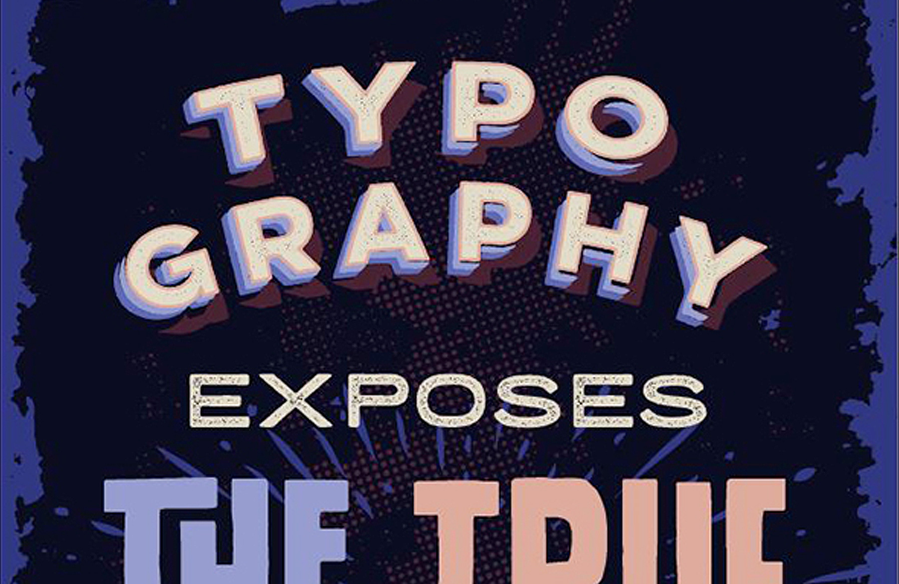 Create A Bold Typography Based Poster Design Cuts