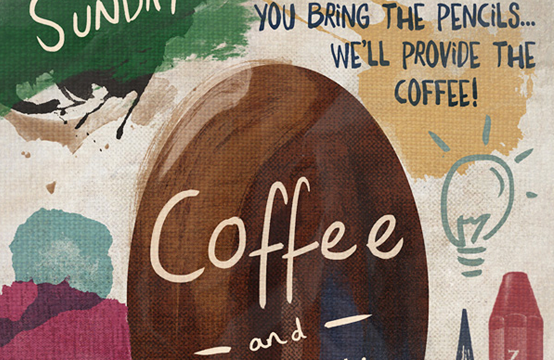 Design a Creative Coffee Shop Meetup Poster - Design Cuts