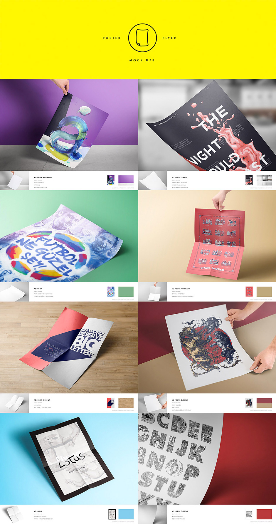 Print Mock Up Pack