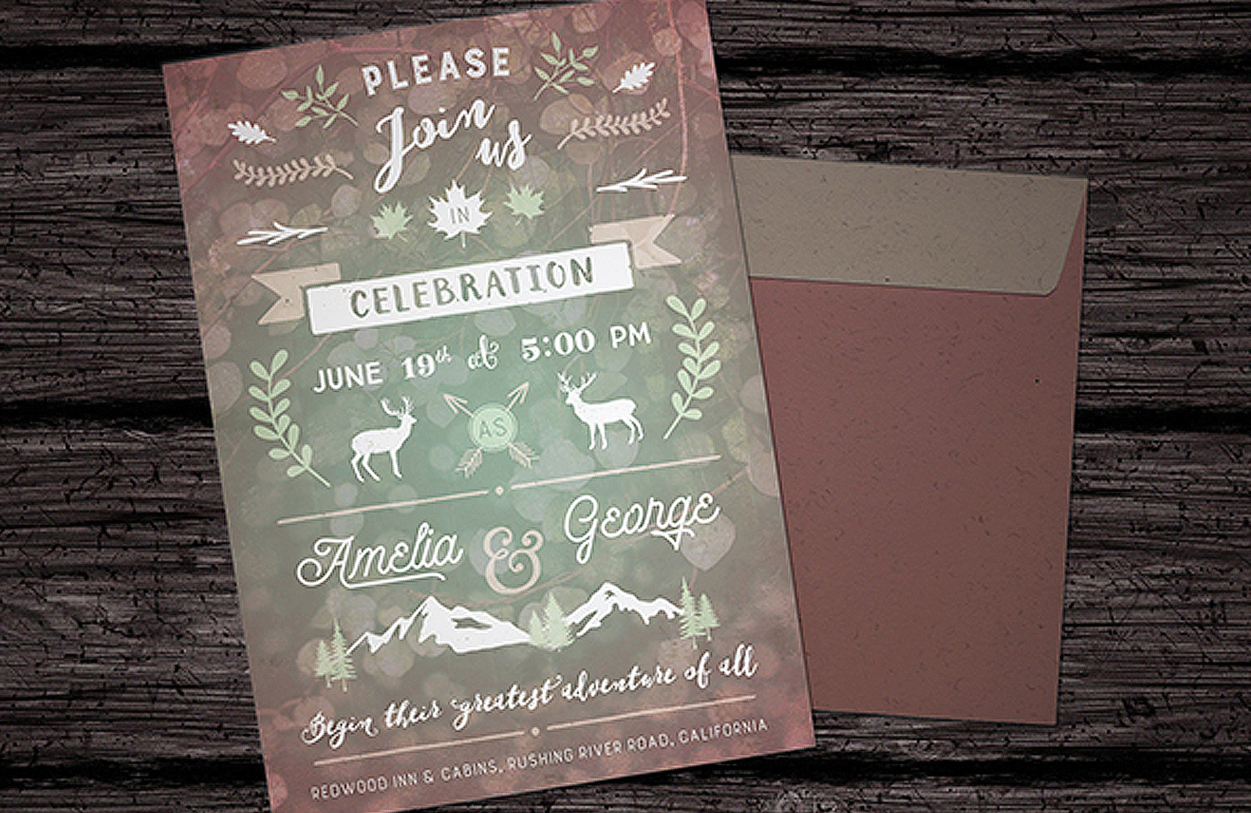 Design a Creative Wedding Invitation - Design Cuts