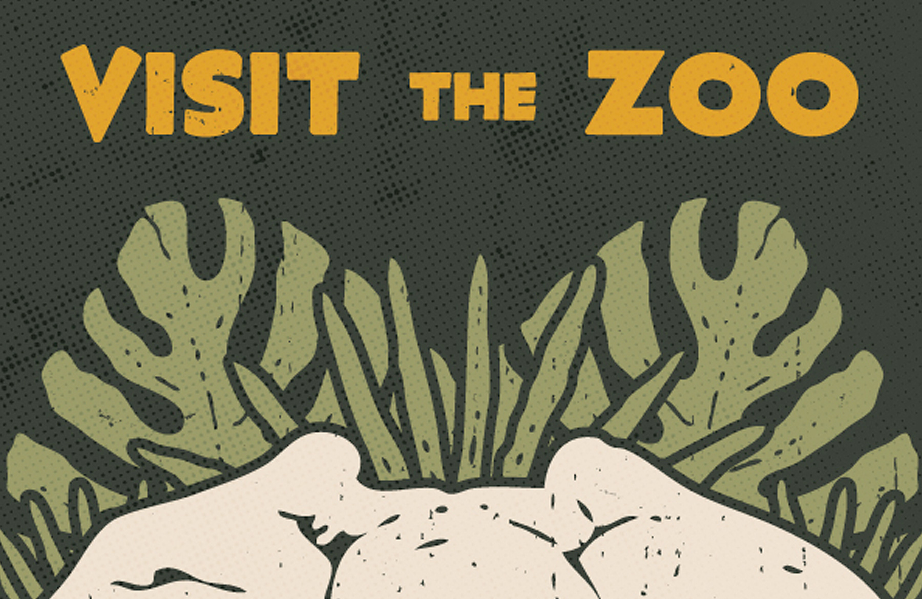 Zoo poster design - Design A Creative Vector Based Zoo Poster