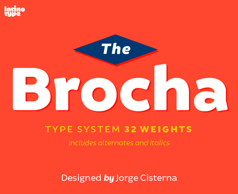 Brocha Font. 50% Off Regular Price