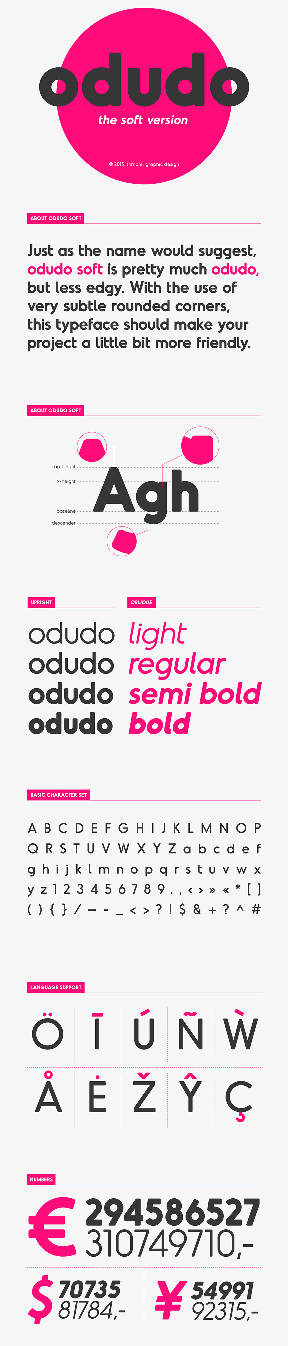 20 Exceptional Clean Font Families