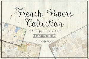 French Papers Collection. 67% Off Regular Price