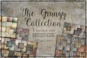 The Grungy Texture Collection. 88% Off Regular Price