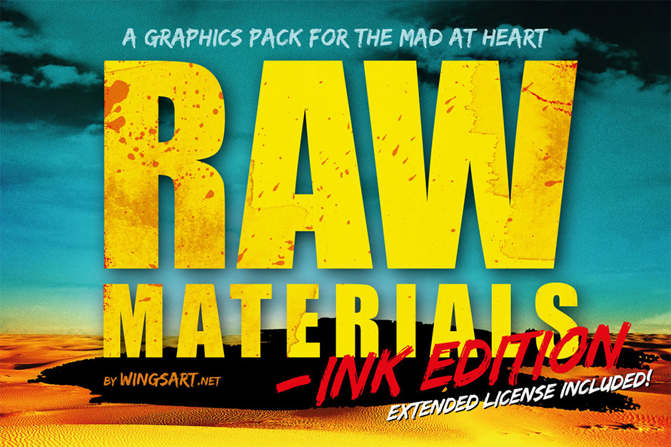 Raw Materials: Ink Edition