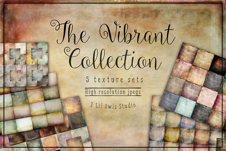 The Vibrant Texture Collection