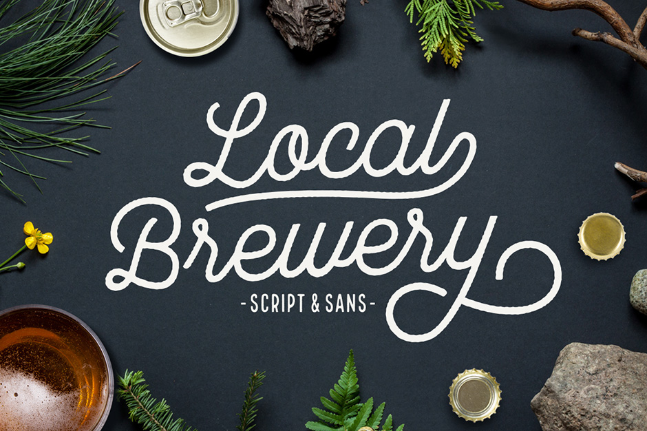 Local Brewery Script + Sans