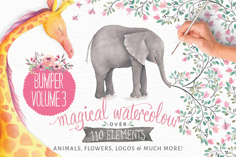 Magical Watercolors Vol 3