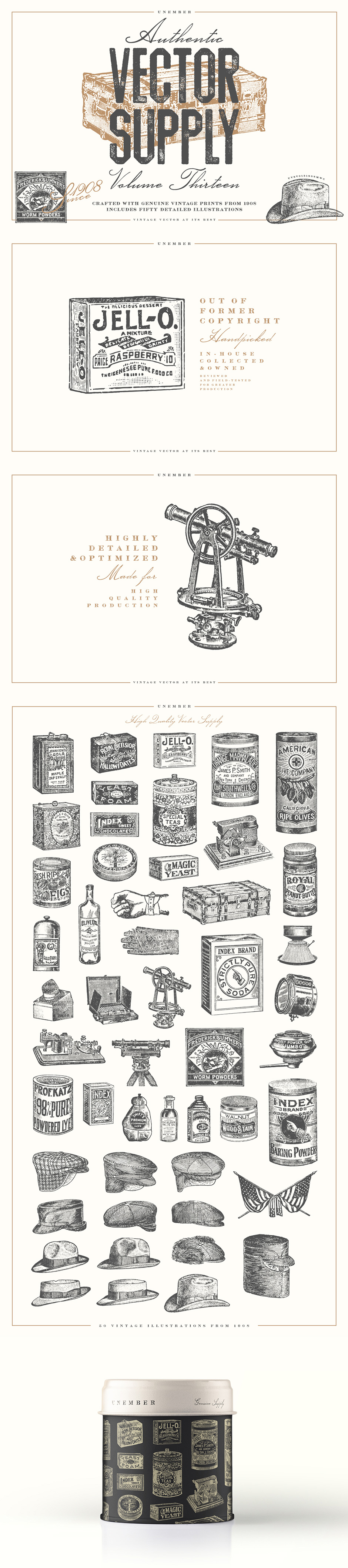 The Extensive Vector Elements Collection