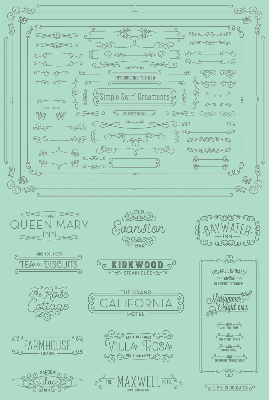 The Extensive Vector Elements Collection: 3500+ Quality Designs ...