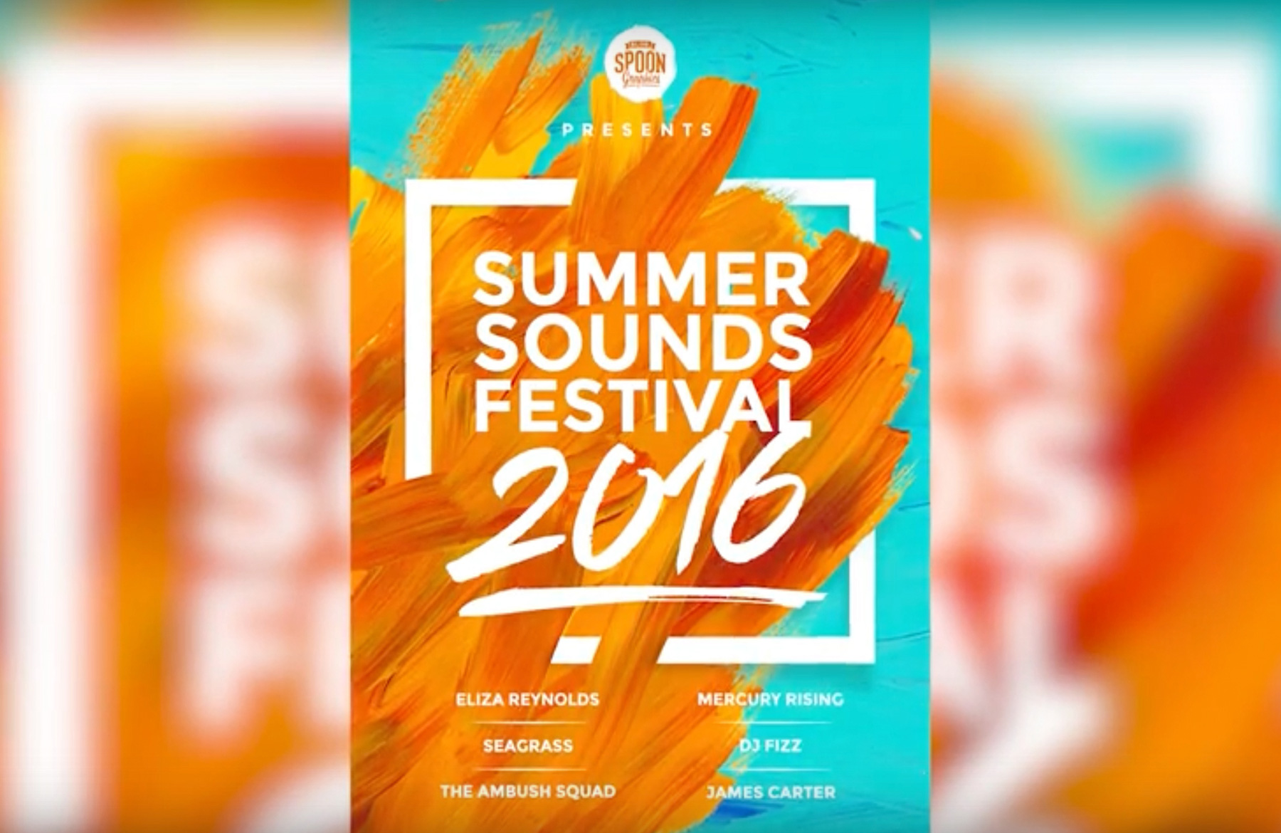 Poster design in photoshop - Create A Music Festival Poster Design In Photoshop