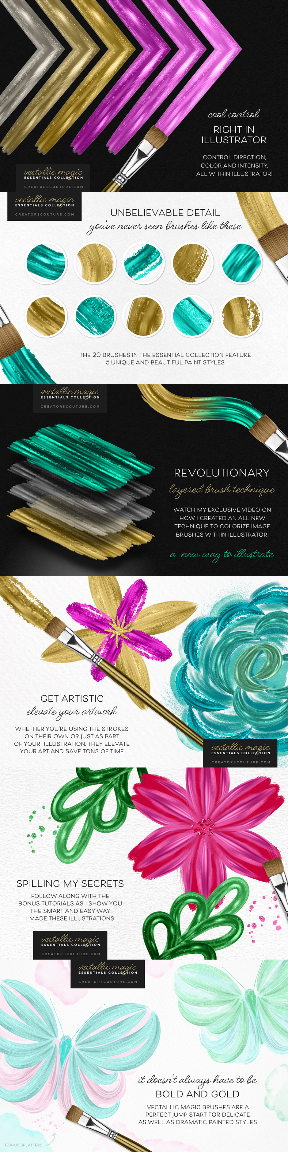 Vectallic Magic Brush Revolution!