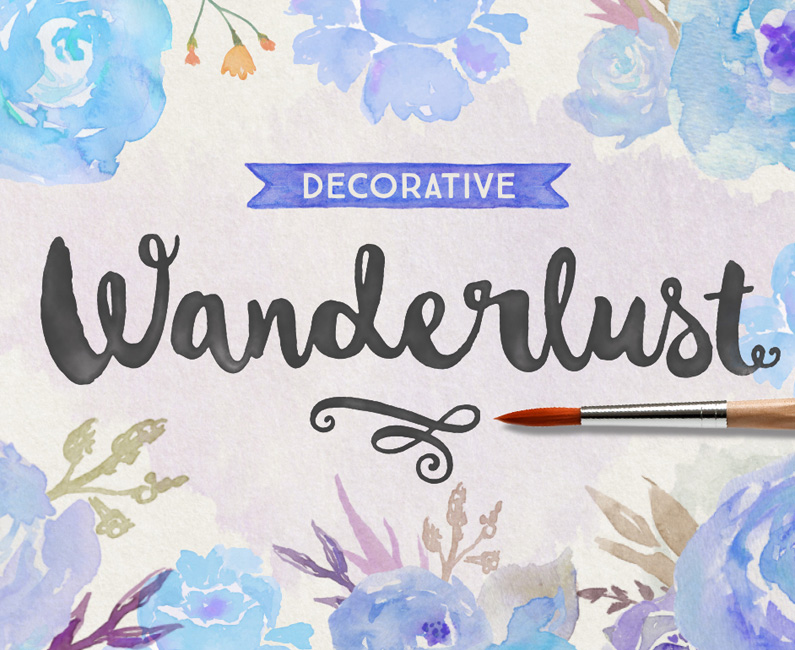 Wanderlust Decorative
