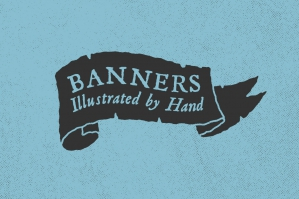 Hand-Illustrated Banners
