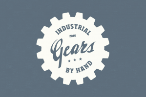 20 Gear Badge Shapes