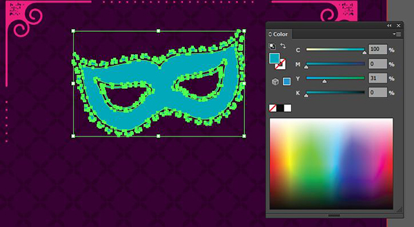 how to make a mask in illustrator