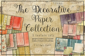 Decorative Papers Collection. 56% Off Regular Price