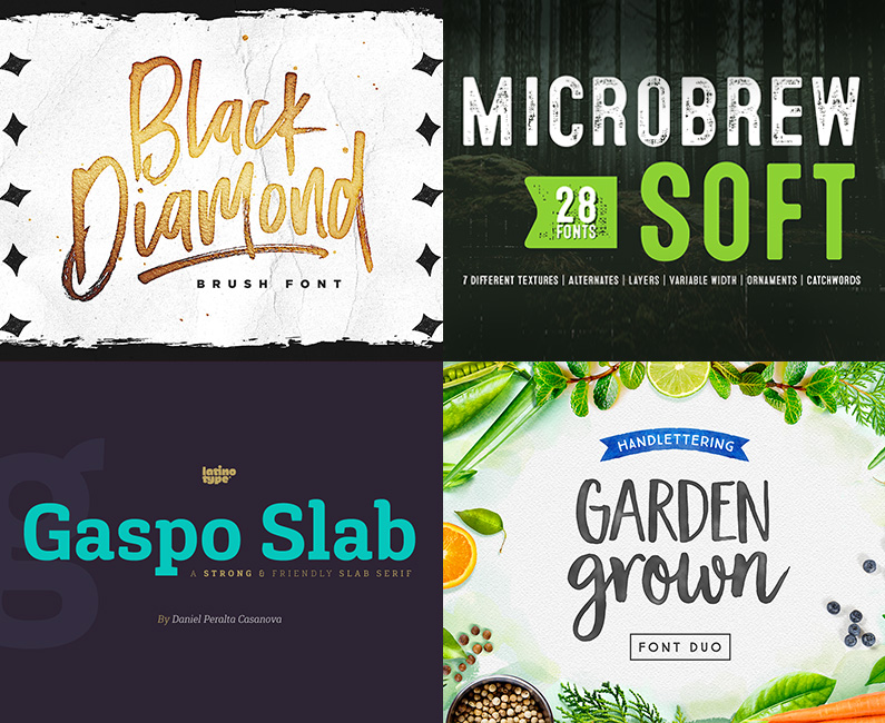 20 Best-Selling Font Families With 247 Individual Fonts - Design Cuts