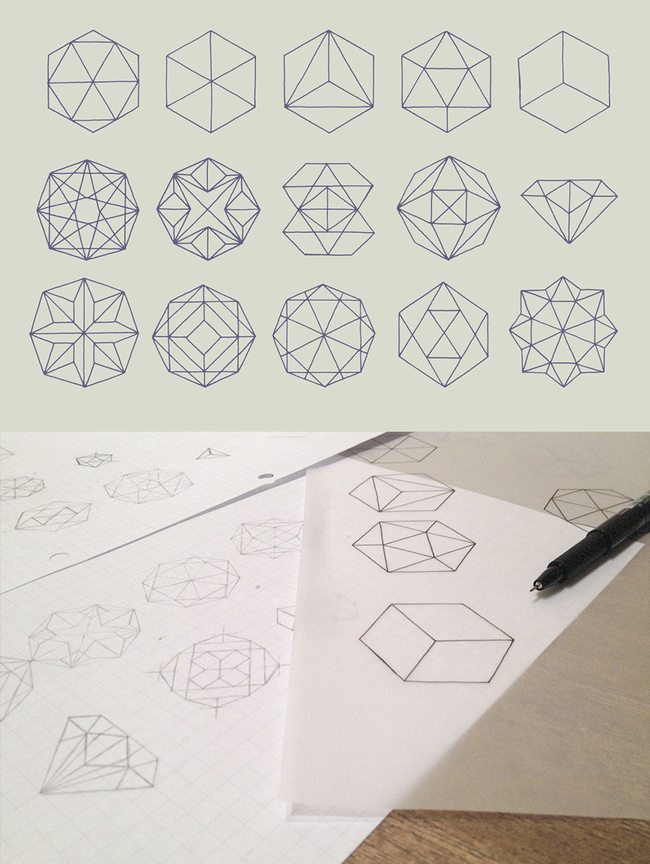 Polygon Outline Shapes
