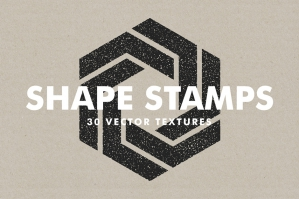 Vector Shape Stamps