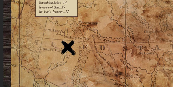 Pointer Spot Tool For Maps: Create A Vintage Treasure Map In Photoshop