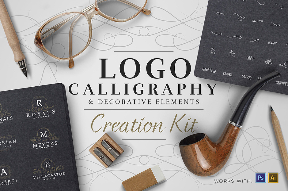 Calligraphy & Logo Creation Kit