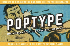 PopType – Graphic Styles and More