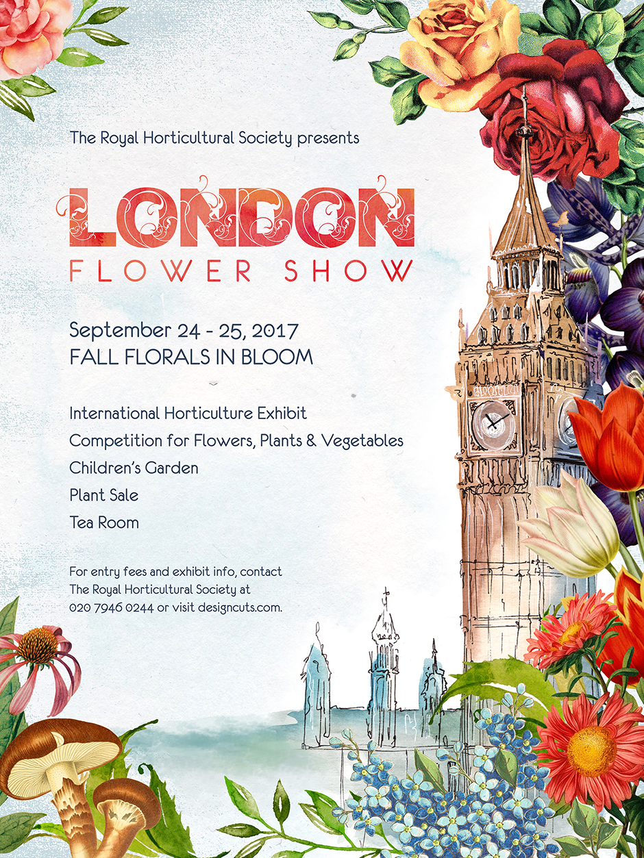 Design a Blooming Flower Show Poster in Photoshop - Design Cuts