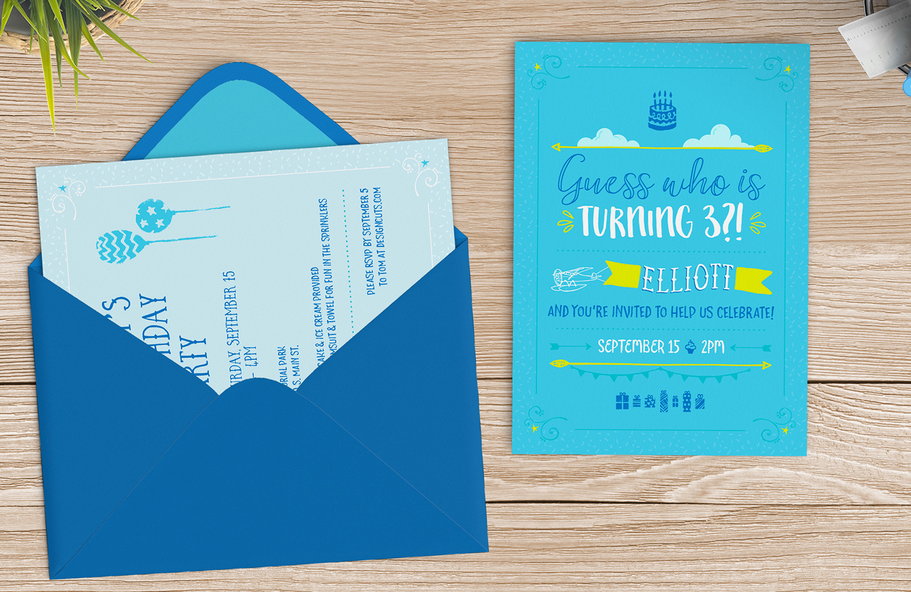 Create A Fun Childrens Birthday Invite In Illustrator